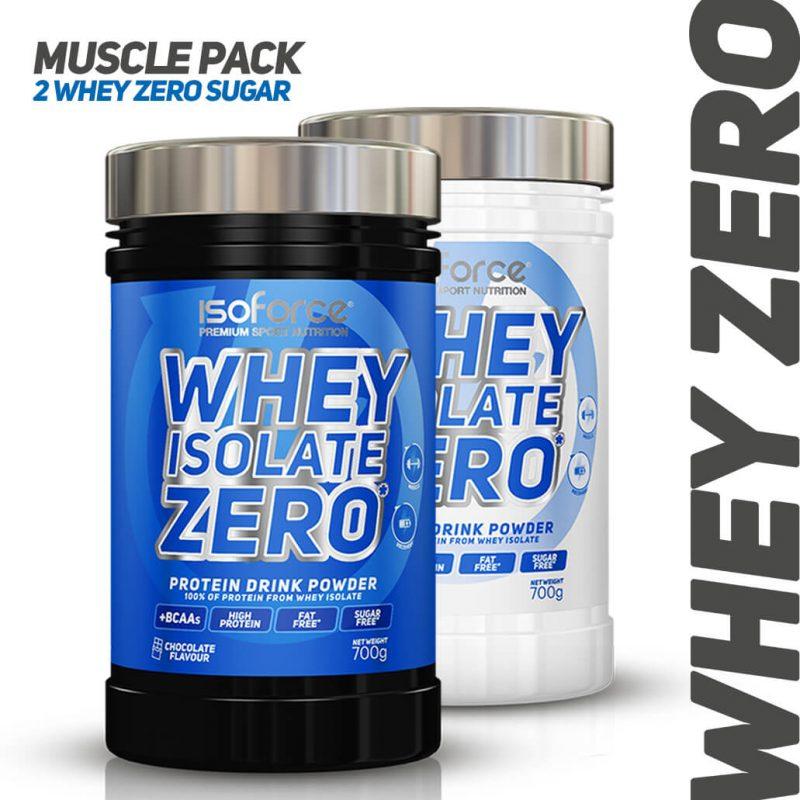 Isoforce Whey Zero MUSCLE PACK