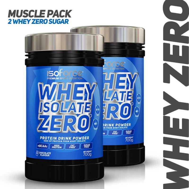 Isoforce Whey Zero MUSCLE PACK chocolate