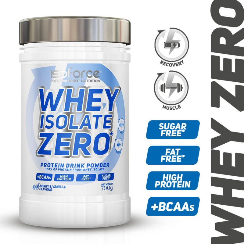 Isoforce whey isolate zero